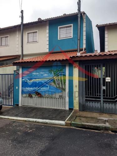 Imagem 1 de 15 de Sobrado Para Venda Em São Paulo, Brasilândia, 2 Dormitórios, 1 Banheiro, 1 Vaga - So0051_1-1543799