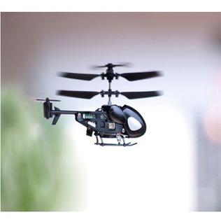 Helicoptero De Controle Remoto Qs Qs5013 2.5ch Preto