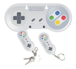 Porta Chave Controle Video Game C/ 02 Chaveiros