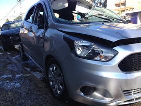 Ford Ka 1.0 3c 2014/2015 Flex Prata - Sucata P/ Retirar Peça