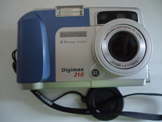 Câmera Digital Samsung Digimax 210 Se - Colecionador