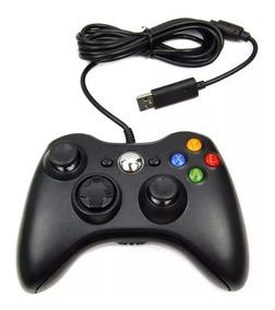 Controle De Xbox 360 C/ Fio Feir - Imperdível