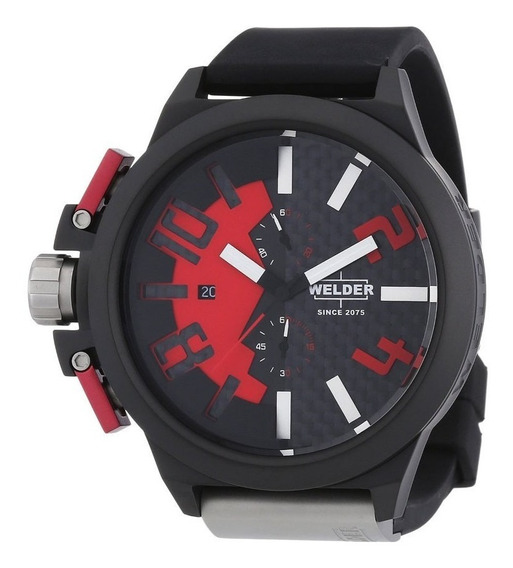 Reloj Welder K35 Por U-boat Acero Inoxidable Negro K35 2501