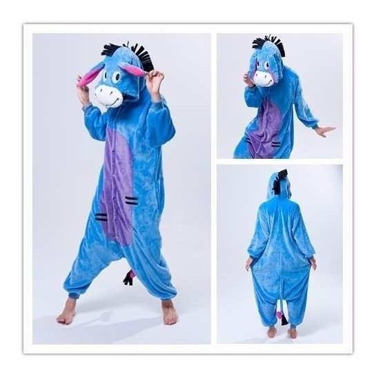 Pijama Unicornio Kigurumi Plush Suave Cuota Original