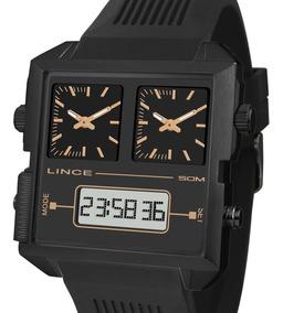 Relógio Lince Original Anadigi Map4588s P1px Quadrado