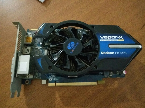 Vapor-x Radeon Hd 5770 1gb Ddr5, Pci- Hdmi, Dvi, Displayport