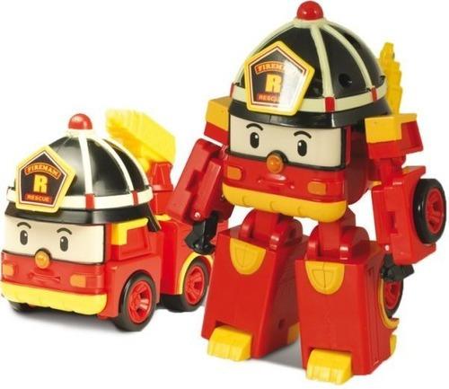 Imagen 1 de 2 de Robocar Poli Roy Vehículo Transformable 83170