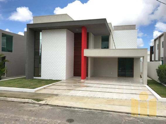 Casa Com 4 Dormitórios À Venda, 280 M² Por R$ 1.050.000 - Petrópolis - Maceió/al - Ca0340