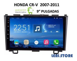 Radio Android Honda Crv 2007-2011 Pantalla 9 Pulgadas