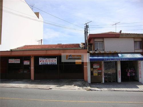 Terreno Residencial À Venda, Assunção, São Bernardo Do Campo. - Te0174