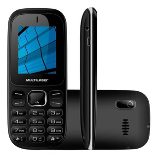 Celular Multilaser Barra Up 3g Dual P9017 Preto - Bluetooth