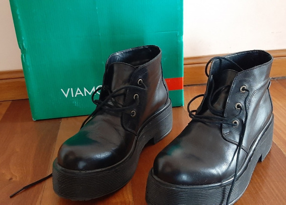 Zapatos Con Plataforma Viamo Talle 40
