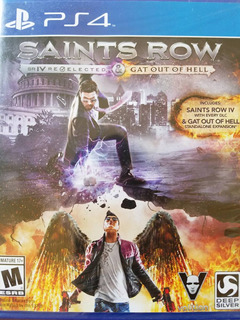 Saints Row Iv Re-elected + Gat Out Of Hell Ps4 Delivery