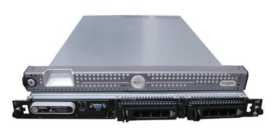 Servidor Dell 1950 2 Xeon 1 Tera 16 Giga + Trilhos