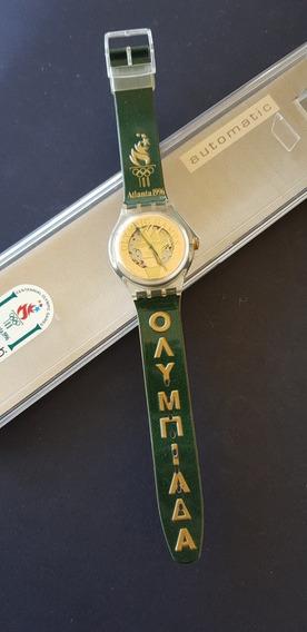 Relogio Swatch Olimpiadas De Atlanta 1996 Original