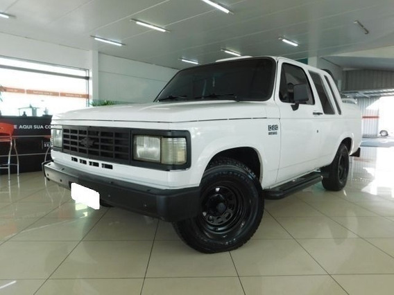 Chevrolet D20 Custom S 4.0 Cd Branca Turbo Diesel 2p 1990