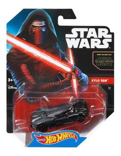 Auto Hot Wheels Star Wars Kylo Ren Series Retro Juguete Rdf1