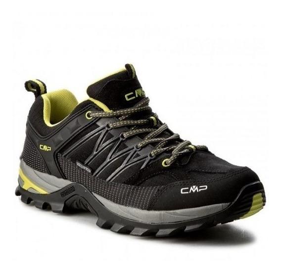 Cmp Zapatillas De Trekking Rigel Low Wp - Hombre