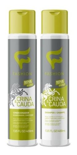 Shampoo + Condicionador Crina Cauda Fashion Cosméticos 280ml