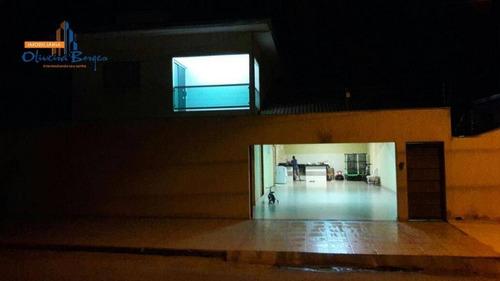 Sobrado Com 3 Dormitórios À Venda, 120 M² Por R$ 480.000,00 - Jardim Das Américas 1ª Etapa - Anápolis/go - So0116