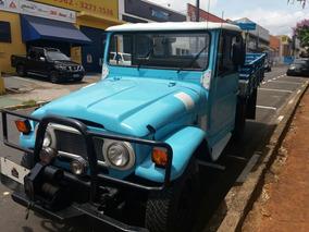 Toyota Bandeirante 1977 Pick Up 4x4 Jeep Caminhonete Diesel