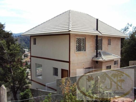 Casa Para Venda Em Campos Do Jordão, Vila Paulista, 2 Dormitórios, 3 Suítes, 2 Banheiros, 3 Vagas - 75