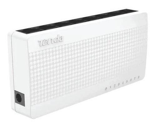 Hub Switch 8 Portas 10/100 Tenda Mod S108