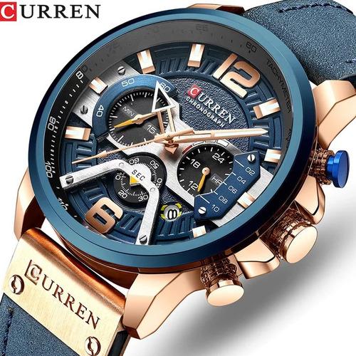 Relógio Curren 8329 Original Sport Promoção Funcional Barato