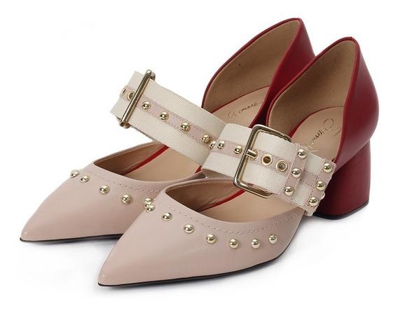 Macedonia Zapatos 19vi8001 Cuero