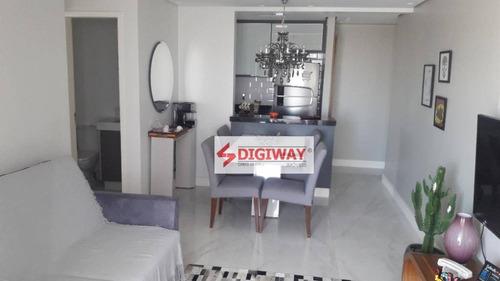 Imagem 1 de 20 de Apartamento Com 1 Dormitórios + Closet  À Venda, 63 M² Por R$ 631.000 - Vila Monumento - São Paulo/sp - Ap1731
