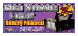 Novedades Del Foro Mini Estroboscópico Con Batería Sin Sonid