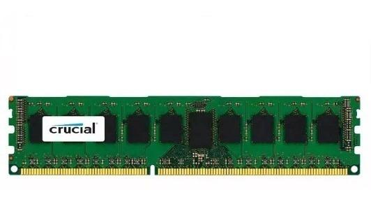 Memoria Ram Crucial 4gb Ddr3 1600mhz 4096mb Blister Pc