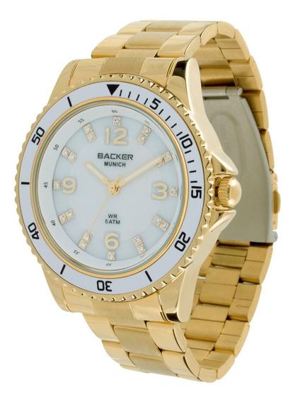 Relógio Backer Munich 34160026 Brdourado