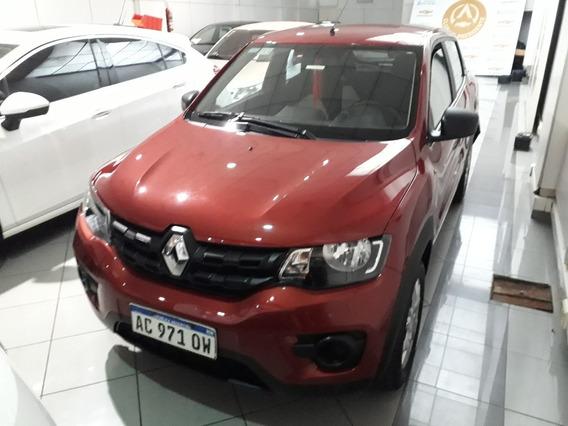 Renault Kwid 1.0 Life 2018, Rojo, Concesionario Oficial