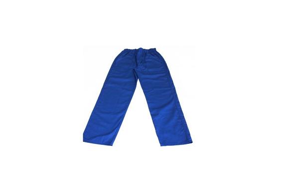 Kit 12 Calças Uniforme Profissional Azul P/ Pedreiro