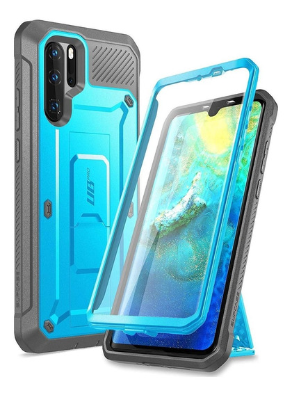 Funda Huawei P30 Pro 2019 Con Mica Supcase Ubpro Azul
