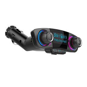 Novo Bt06 Carro Bluetooth Fm Transmissor Carregador Mp3 Play
