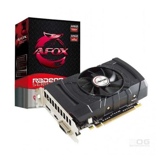 Placa De Vídeo Afox Radeon Rx 550 2gb Gddr5 Afrx550-2048d5h3