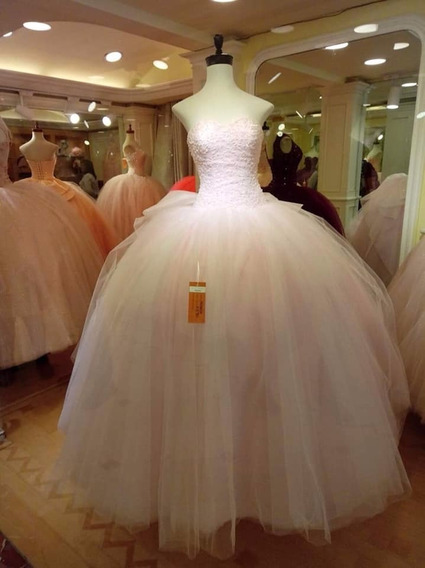 Vestido De Xv Años Rosa.