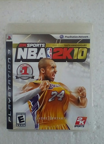 Jogo Nba 2k10 Esporte Ps3 Seminovo Game Playstation 3