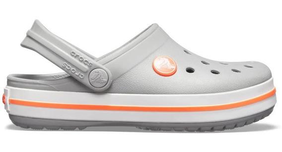 Crocs Crocband Kids Light Grey -bright