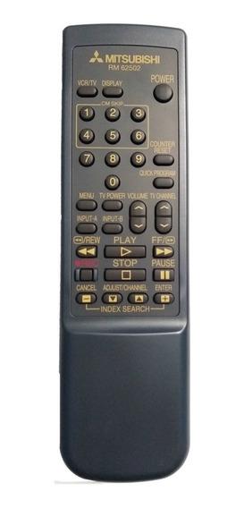 Cr-1613 Controle P/ Video K7 Rm62502 Mitsubishi Original