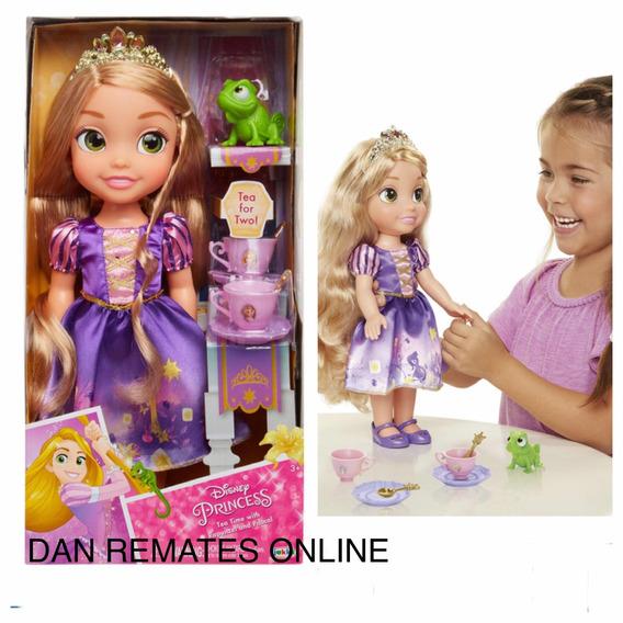Rapunzel Disney Princess, Muñeca Con Accesorios