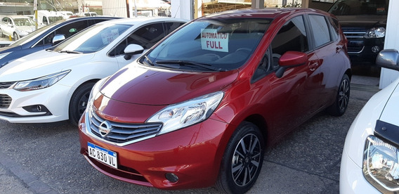 Nissan Note 1.6 Exclusive Automatico 2018 35mkm