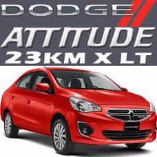 Dodge Attitude Se At Uber Ac Bolsas Sony 3cil 76hp 27kml Rhc