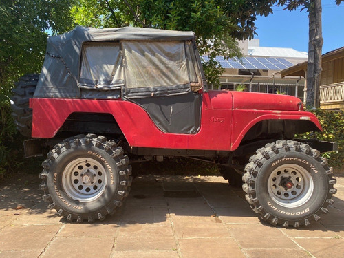 Jeep Willys 4x4 - Motor Falcon 3.6