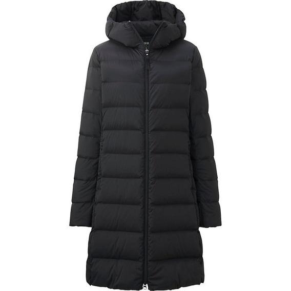 Campera Tapado Uniqlo Ultra Light Down Coat Nuevo Negro Xl