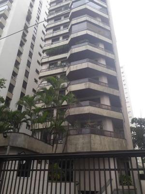 Apartamento Com 3 Dormitórios Para Alugar, 206 M² Por R$ 12.000/mês - Moema - São Paulo/sp - Ap1765