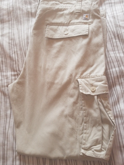 Pantalon Carhartt Cargo Kaki Talla 36x32