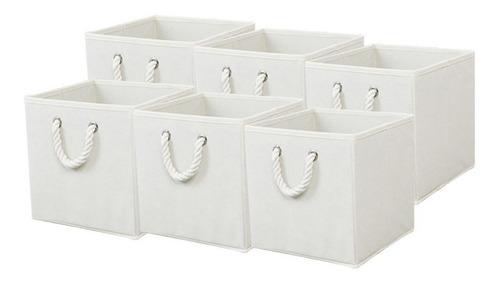 Set De 6 Cubos Organizadores Begônia Plegables Para El Hogar
